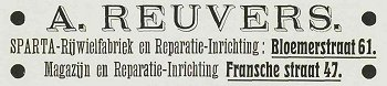 Reuvers-advertentie