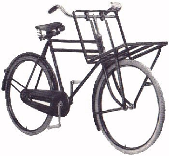 Stokvis carrier bicycle